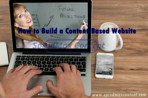 How to build a content-based website